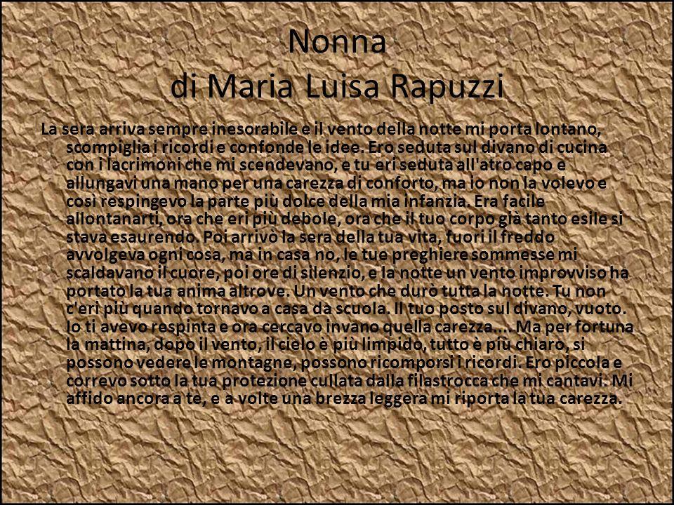 Nonna di Maria Luisa Rapuzzi