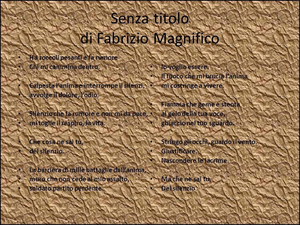 Senza titolo di Fabrizio Magnifico