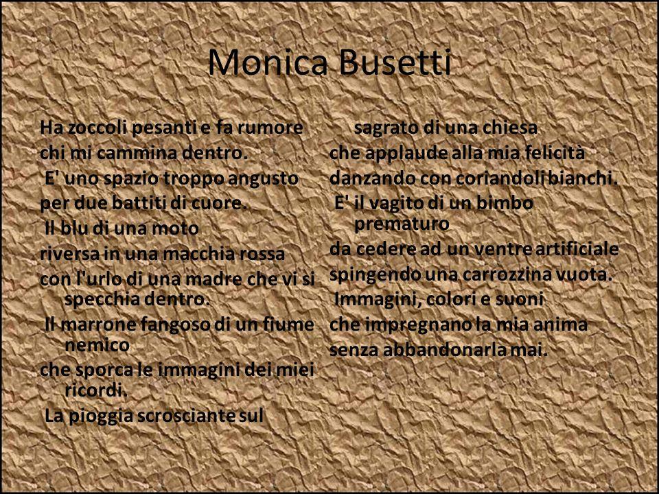 Monica Busetti La pioggia scrosciante sul sagrato di una chiesa
