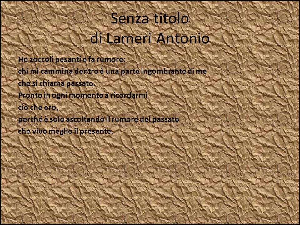 Senza titolo di Lameri Antonio