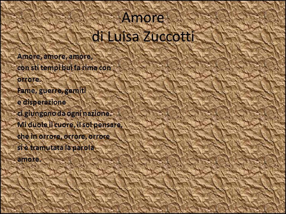 Amore di Luisa Zuccotti