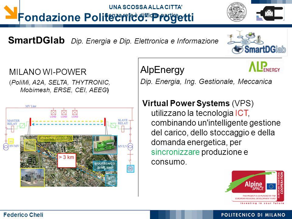 Fondazione Politecnico: Progetti