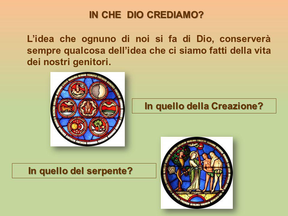 In quello della Creazione
