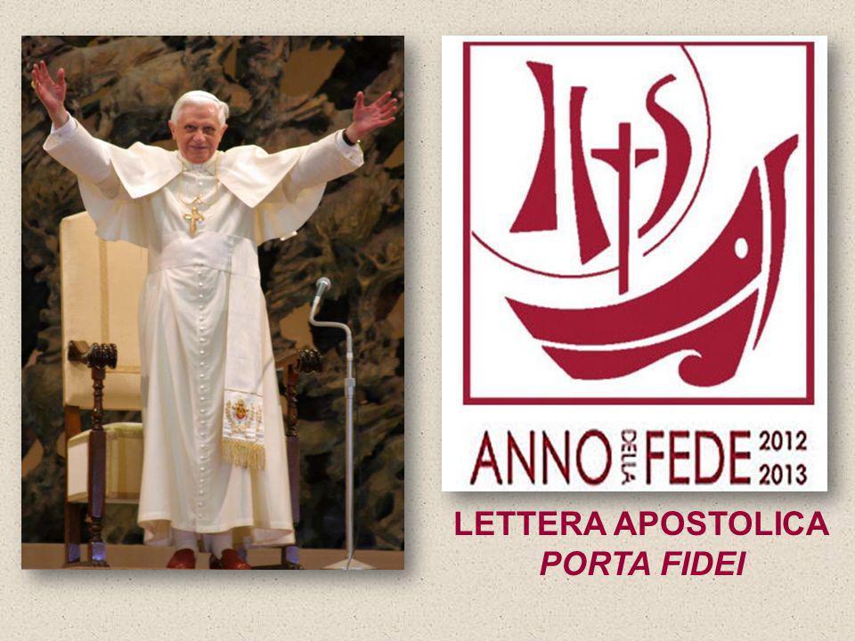 LETTERA APOSTOLICA PORTA FIDEI
