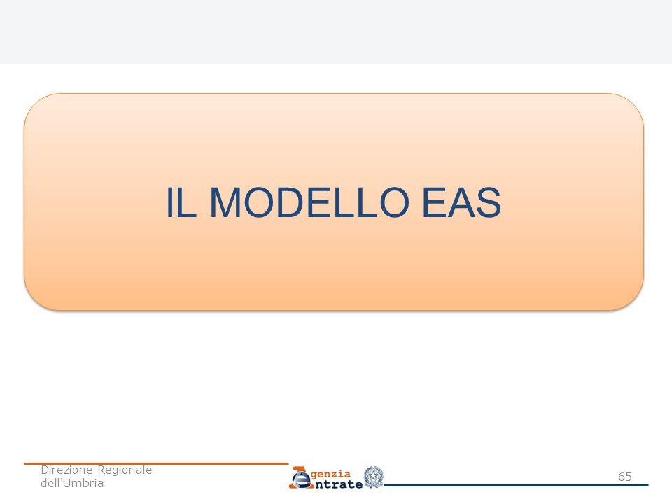 IL MODELLO EAS Direzione Regionale dell Umbria