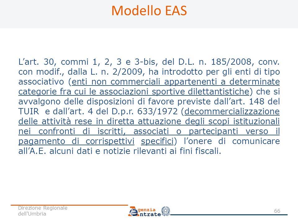Modello EAS