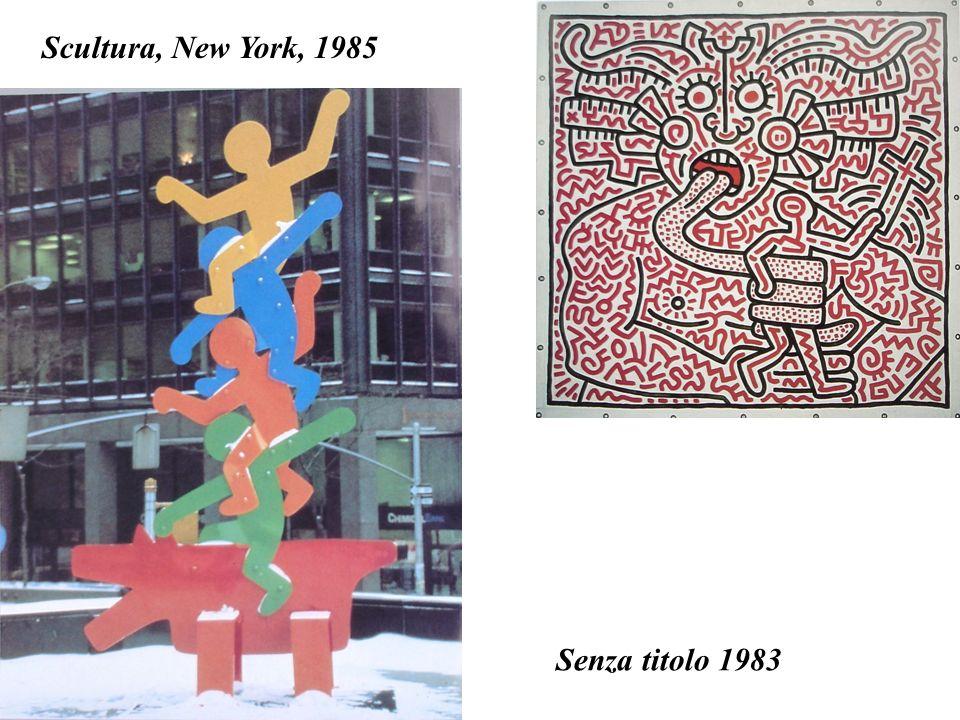 Scultura, New York, 1985 Senza titolo 1983