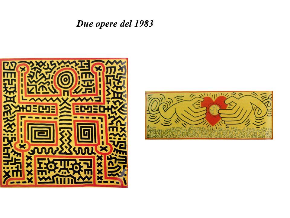 Due opere del 1983