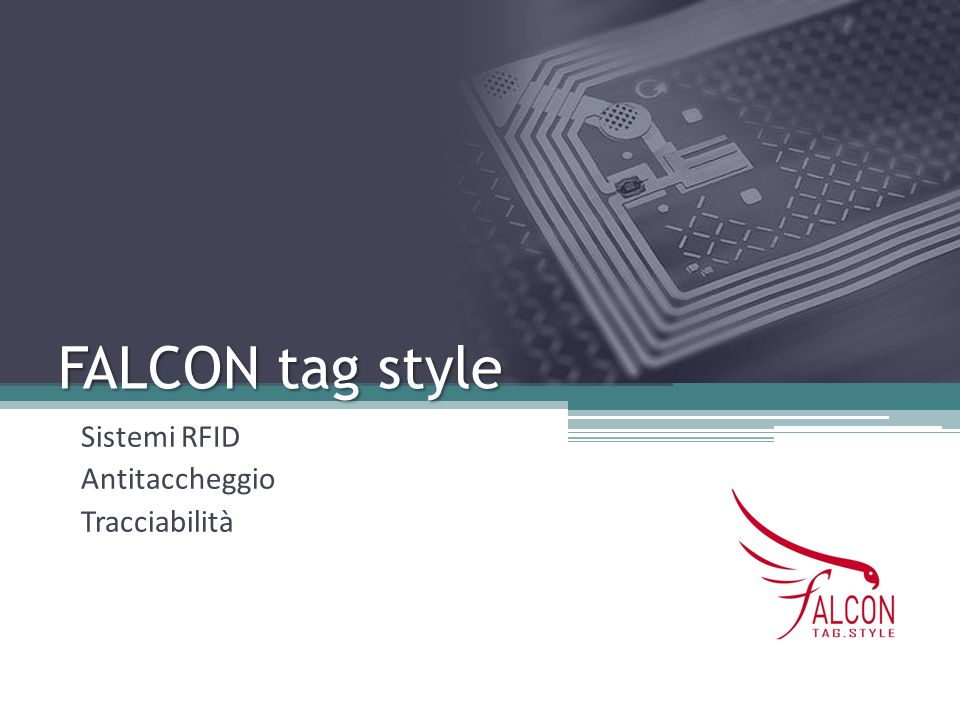 Sistemi RFID Antitaccheggio Tracciabilità