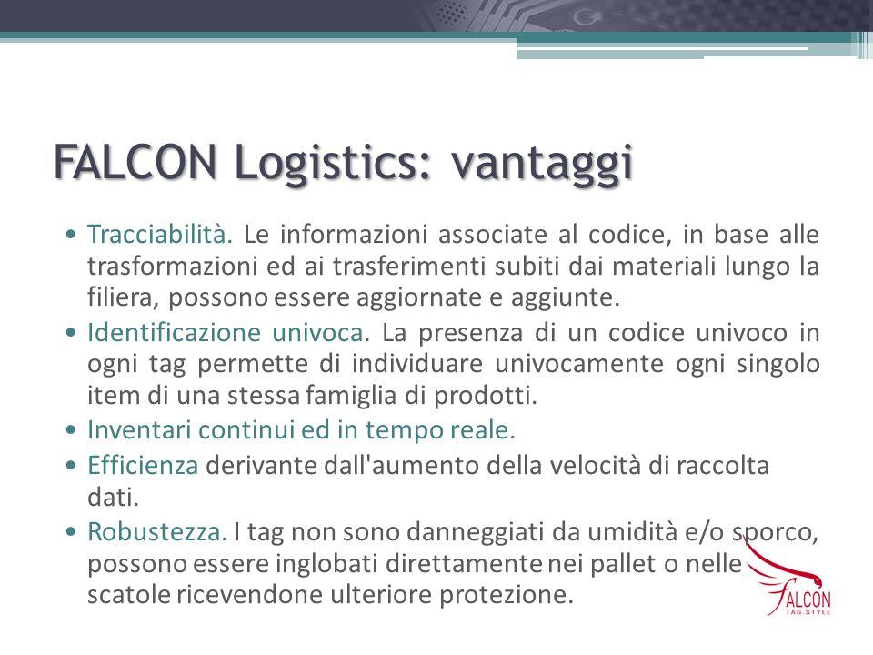 FALCON Logistics: vantaggi