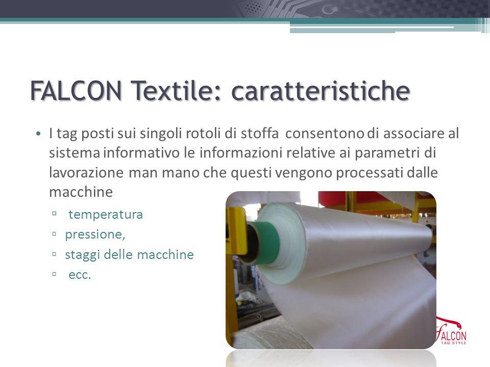 FALCON Textile: caratteristiche