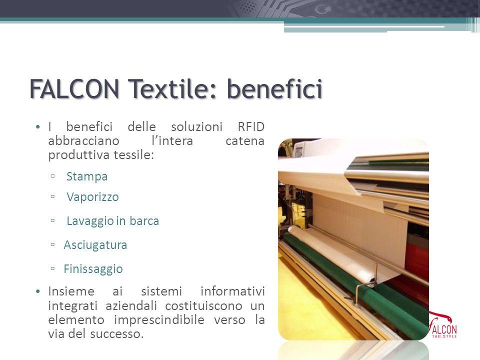 FALCON Textile: benefici