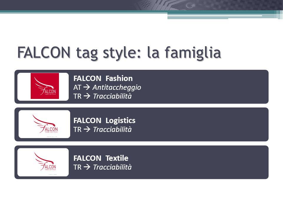 FALCON tag style: la famiglia
