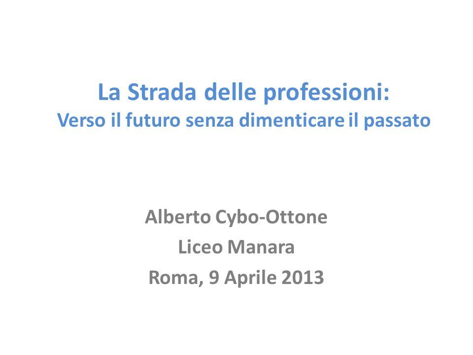 Alberto Cybo-Ottone Liceo Manara Roma, 9 Aprile 2013