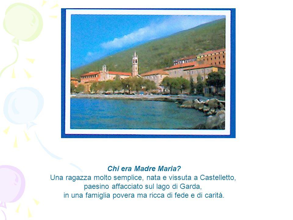Una ragazza molto semplice, nata e vissuta a Castelletto,