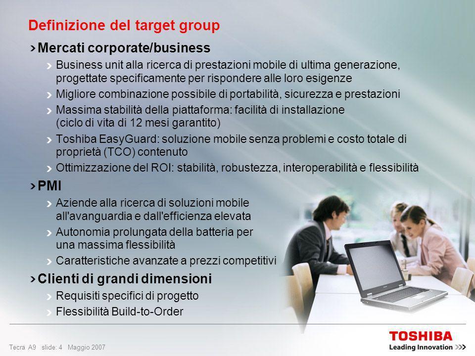 Definizione del target group