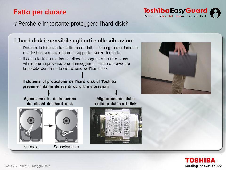 Fatto per durare Perché è importante proteggere l hard disk