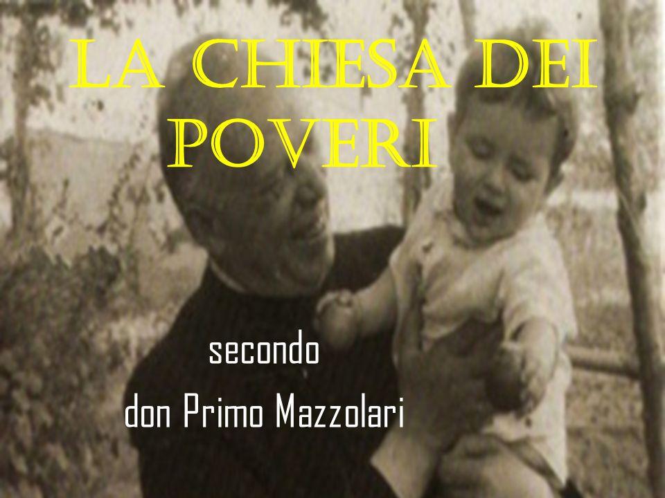 secondo don Primo Mazzolari