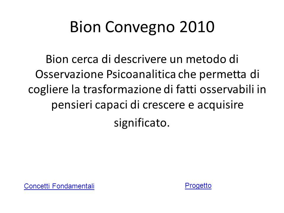 Bion Convegno 2010