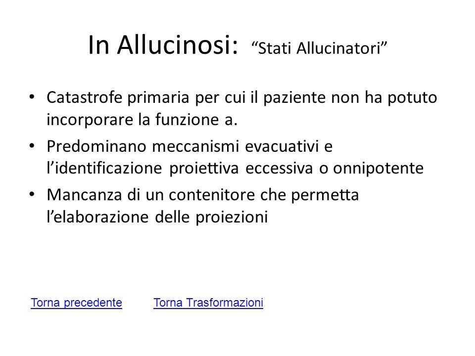 In Allucinosi: Stati Allucinatori