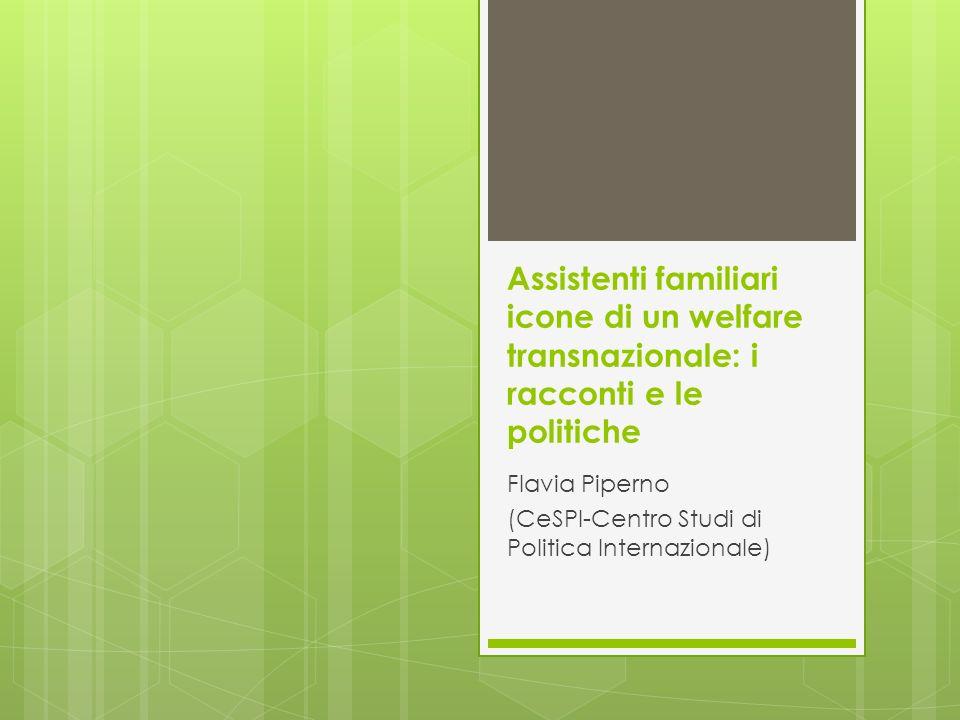 Flavia Piperno (CeSPI-Centro Studi di Politica Internazionale)