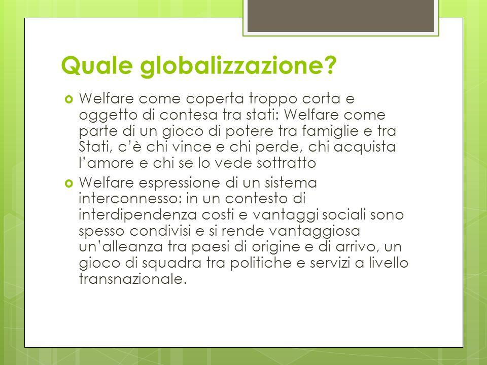 Quale globalizzazione