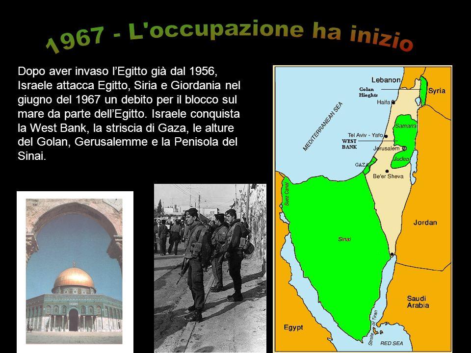 1967 - L occupazione ha inizio