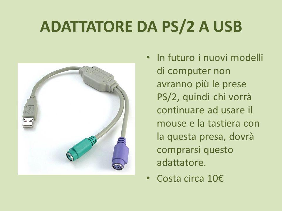 ADATTATORE DA PS/2 A USB