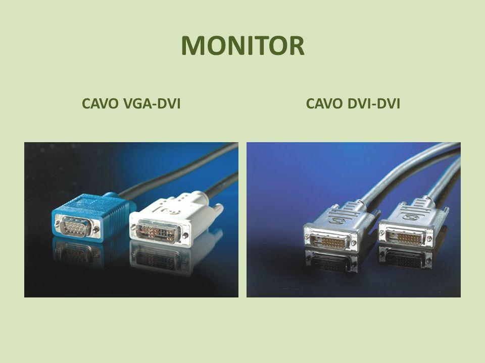 MONITOR CAVO VGA-DVI CAVO DVI-DVI