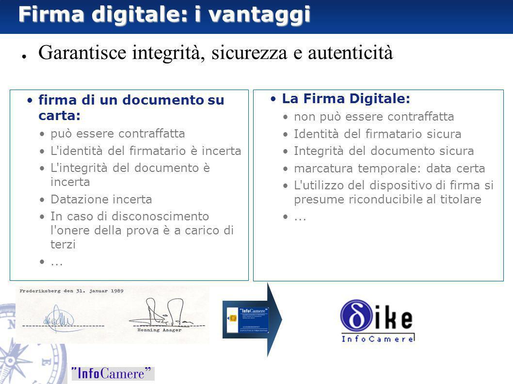 Firma digitale: i vantaggi
