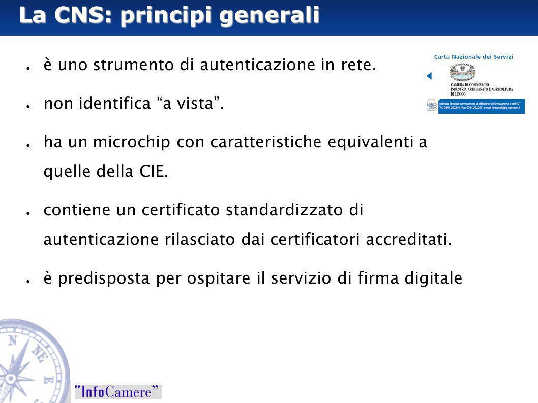 La CNS: principi generali