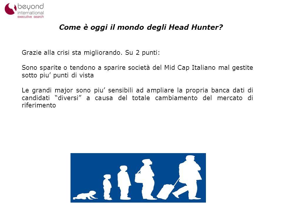 Come è oggi il mondo degli Head Hunter