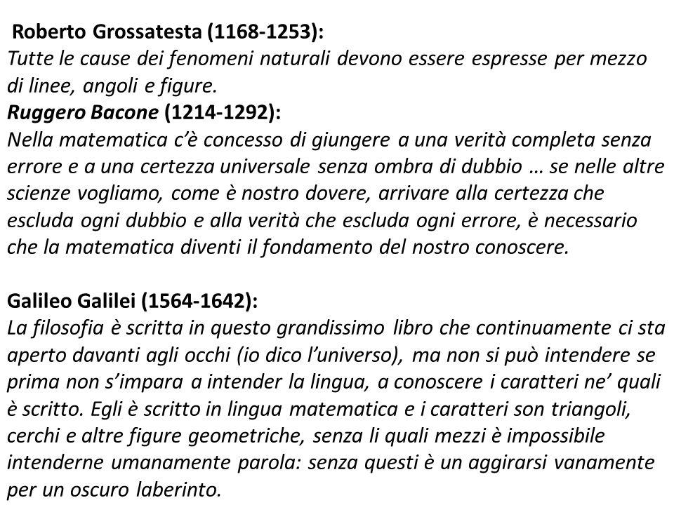 Roberto Grossatesta (1168-1253):