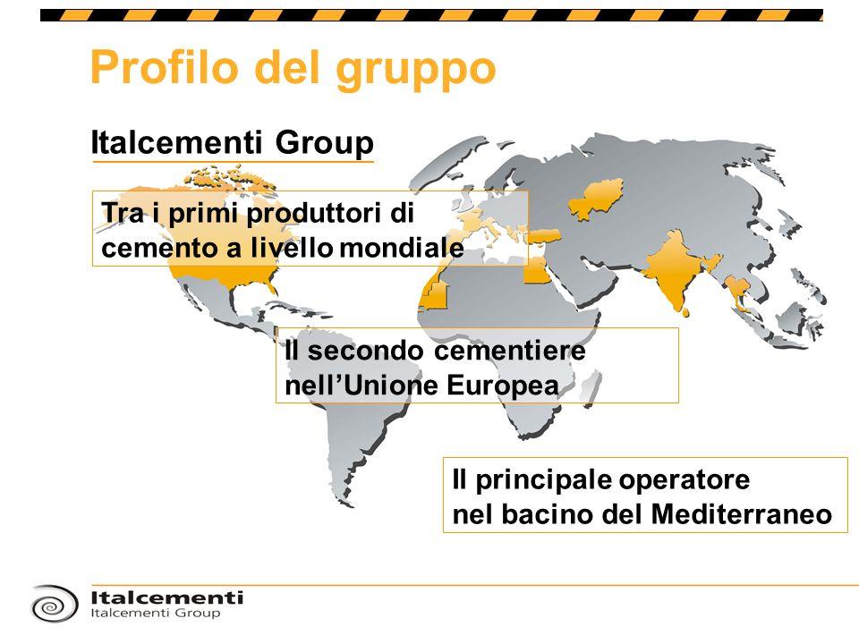 Profilo del gruppo Italcementi Group