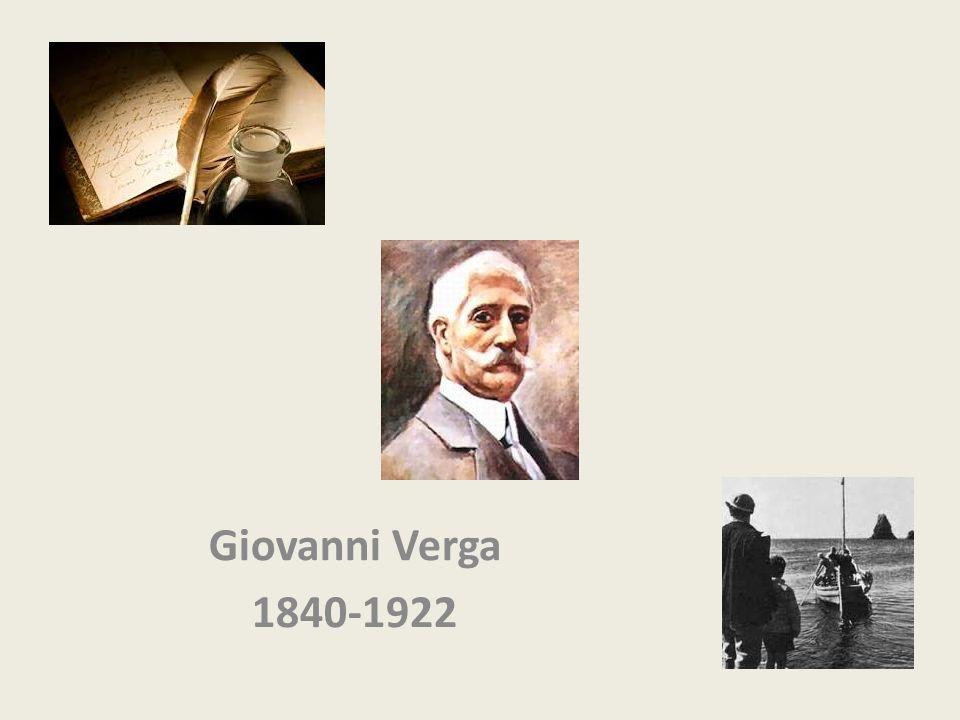 Giovanni Verga 1840-1922