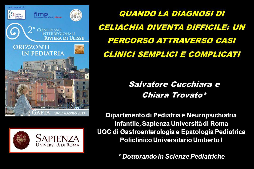 Salvatore Cucchiara e Chiara Trovato*