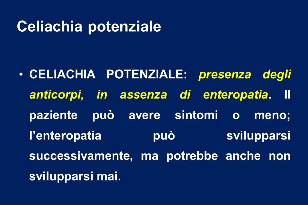 Celiachia potenziale