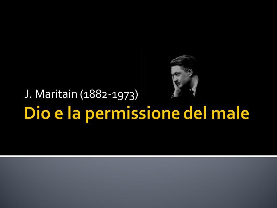 Dio e la permissione del male