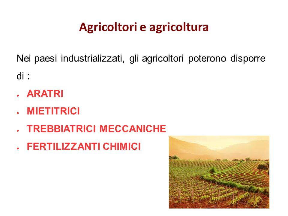 Agricoltori e agricoltura