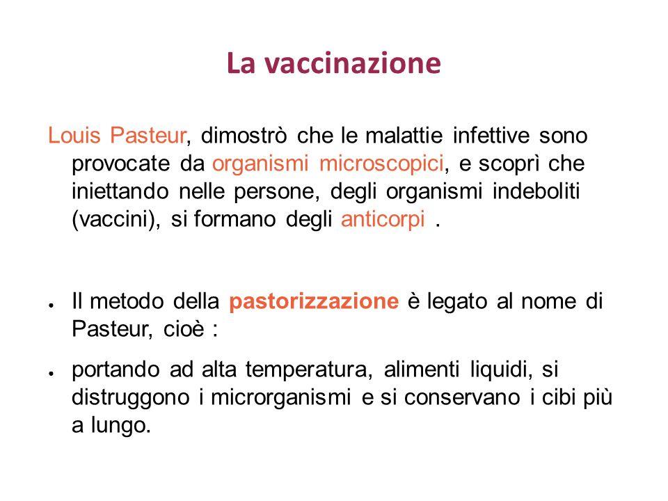 La vaccinazione