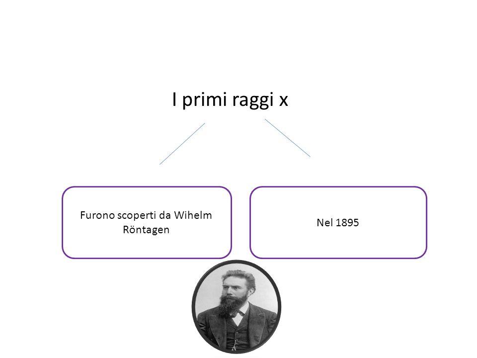 Furono scoperti da Wihelm Röntagen
