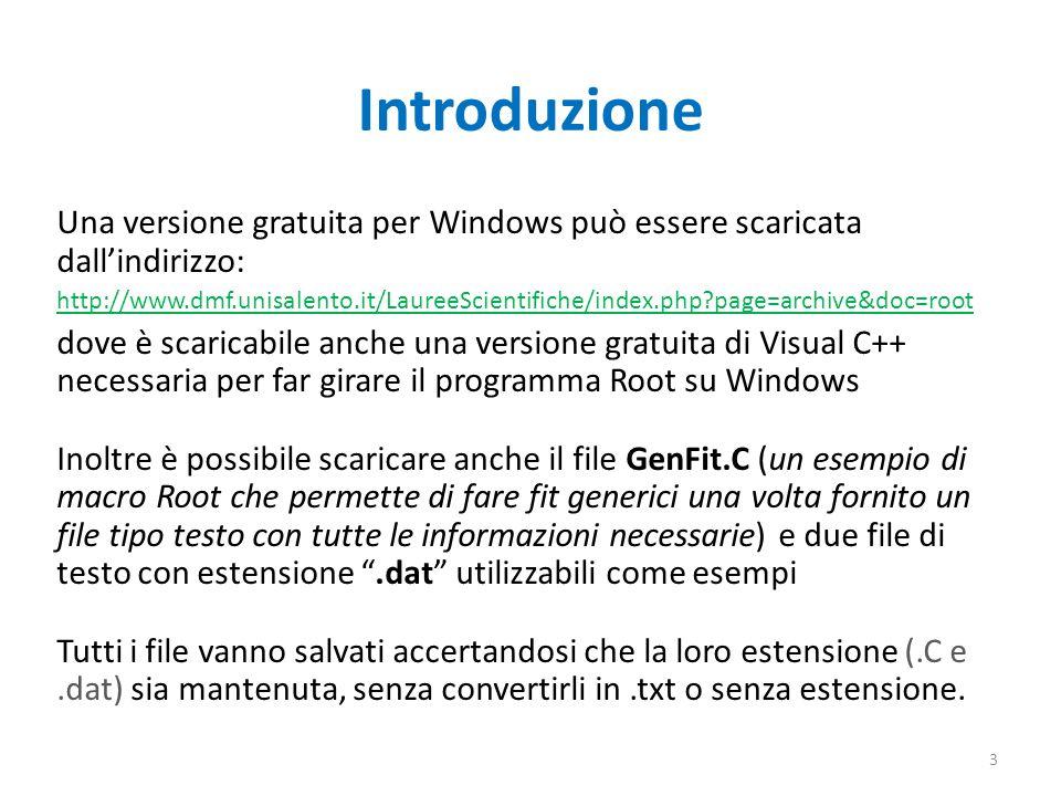IntroduzioneUna versione gratuita per Windows può essere scaricata dall'indirizzo:
