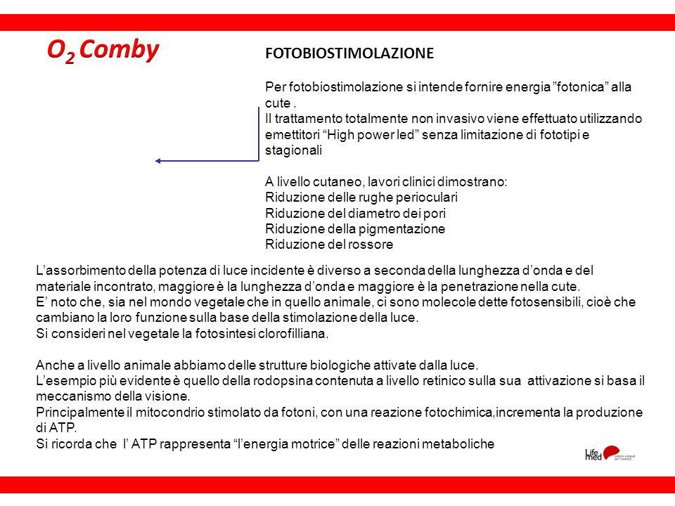 O2 Comby FOTOBIOSTIMOLAZIONE