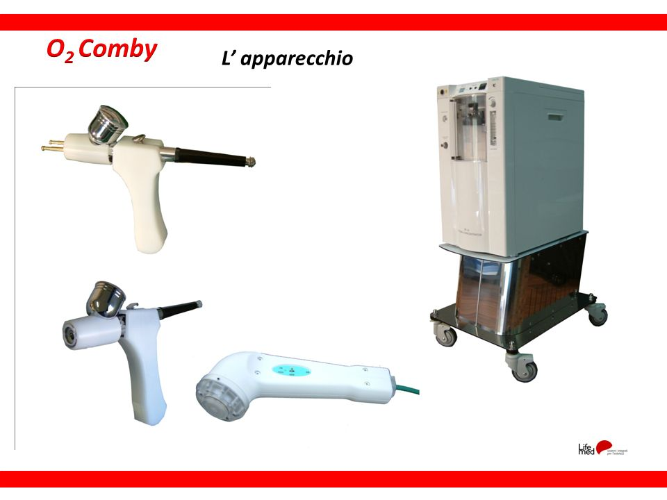 O2 Comby L' apparecchio