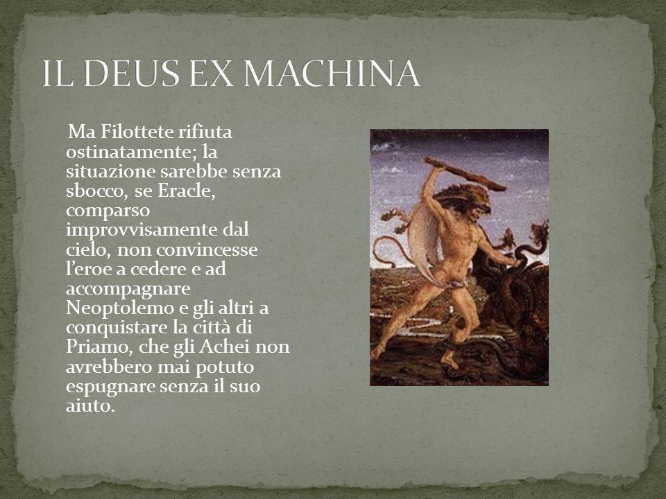 IL DEUS EX MACHINA