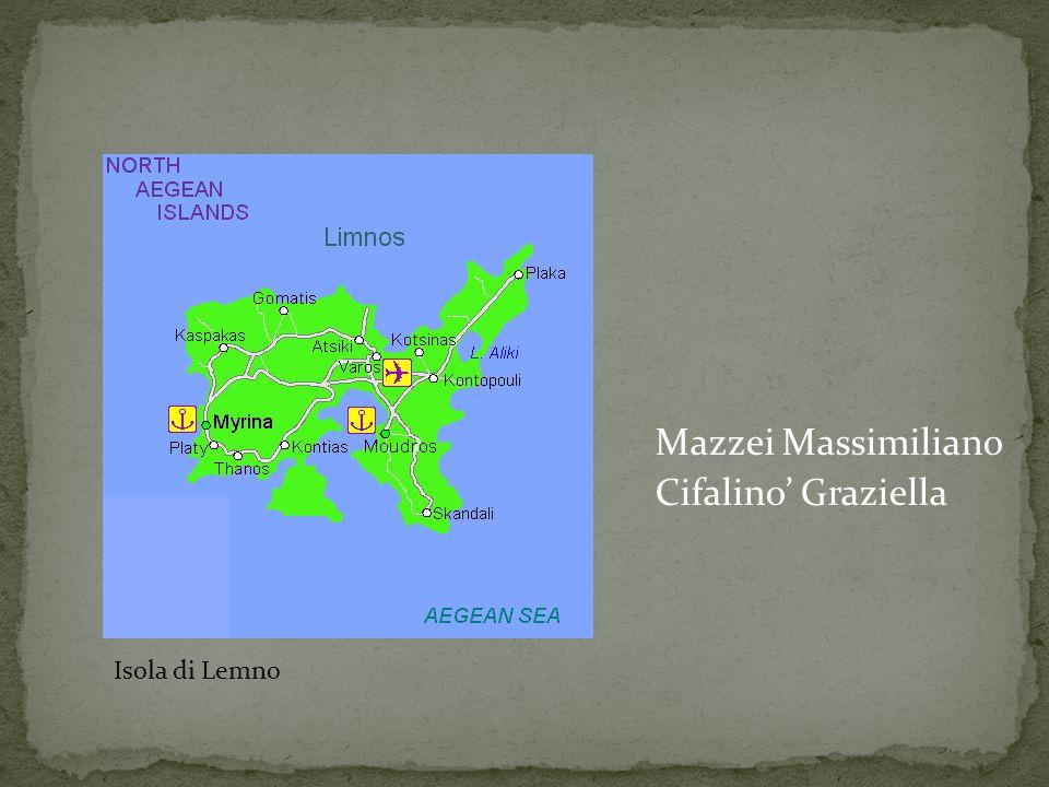 Mazzei Massimiliano Cifalino' Graziella Isola di lemno Isola di Lemno