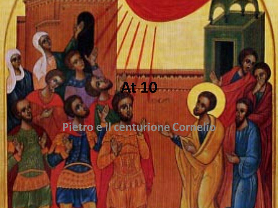Pietro e il centurione Cornelio