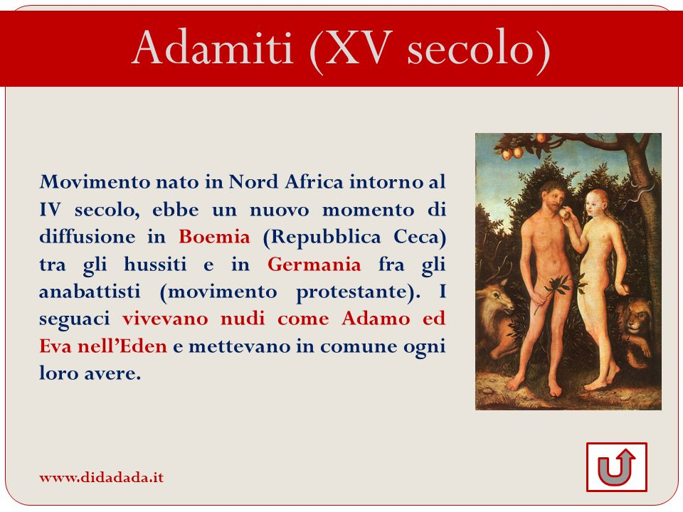 Adamiti (XV secolo)