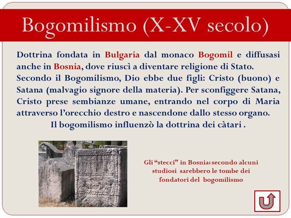 Il bogomilismo influenzò la dottrina dei càtari .
