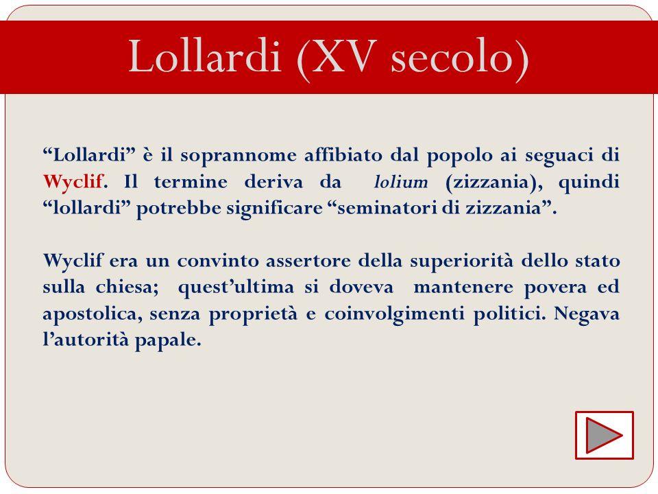 Lollardi (XV secolo)